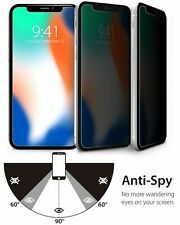Anti-Spy Screen Protector Privacy Tempered Glass For iPhone 11 Pro Max X XR Plus