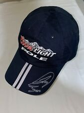 Joey Logano signed FIRST POLE SITTER COORS LIGHT NASHVILLE 2008 CREW hat RARE!