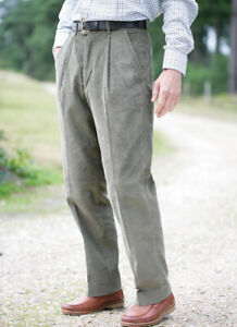 Mens Luxury Comfort Fit Cords Corduroy Trousers Smart Casual  Classic 32-52
