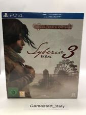 SYBERIA 3 COLLECTOR'S EDITION - SONY PS4 PAL NUOVO NEW SEALED