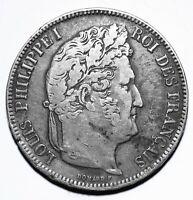 1841 W France Five 5 Francs - Louis-Philippe I - Lot 146
