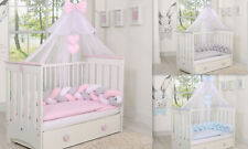 STUNNING CANOPY DRAPE/MOSQUITO NET BIG 470cm wide 4 baby Cot or Cot bed S A L E!