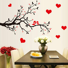Tree Branch Bird DIY Art Wall Decal Decor Room Stickers Vinyl Home Mural Paper