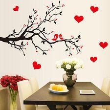 Tree Branch Bird DIY Art Wall Decal Decor Room Stickers Vinyl Home Mural Paper