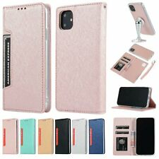 Removable Wallet Case Magnetic Flip Cover for iPhone 11 Pro XS Max XR 6 7 8 Plus