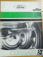 Ford Corsair GT range  brochure c1964 Dutch text