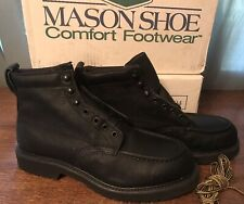 Mason Steel Toe Boots Mens size 9D Leather  NEW