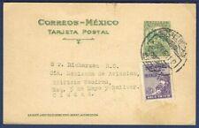 MEXICO Postal Card Tarjeta Postal Domestic Mail 1930