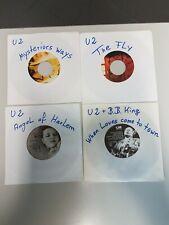7`` - 4 x U2 Single Konvolut - The Fly , Angel of Harlem + 2