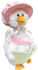 "NEW Cuddle Barn Pink ""Mother Goose"" Song Motion 14"" Animated Plush"