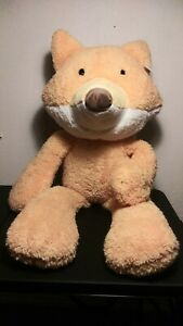 LARGE RARE  G by Gund Orange Take A Long Fox Plush Soft Toy Stuffed Animal 33""