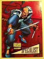 1993 Marvel Universe Series 4 Red Foil Insert Chase Card #7 SPECIALIST 2099