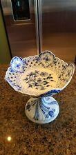 Meissen Porcelain Blue Onion Compote