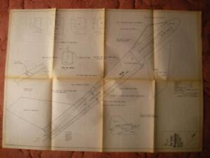 """RCM&E World Plans of the Predator a slope soarer model 43 1/2"""" wingspan"""