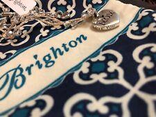 NWT Brighton MOM KARMA Petite Necklace Silver Engraved Heart Pendant NEW