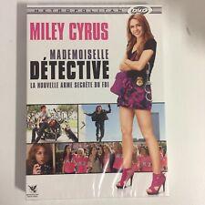 Mademoiselle Détective Miley Cyrus dvd neuf sous blister c12