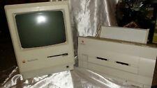 VINTAGE 1987 APPLE COMPUTER MACINTOSH PLUS M0001A 1 MB & 1990 STYLEWRITER