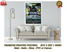 More details for young frankenstein classic movie poster art print gift a0 a1 a2 a3 a4 maxi