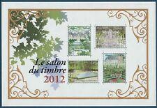 BLOC FEUILLET N°132 - SALON DU TIMBRE - 2012