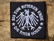 PATCH PATCH aufnaher toppa DIE TOTEN HOSEN groupe musica punk rock tedesco