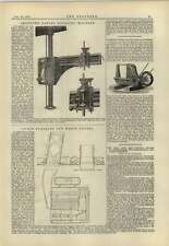 1883 Livet Furnace And Wery Funnel Nabholz Improved Riveter