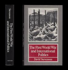FIRST WORLD WAR & INTERNATIONAL POLITICS Outbreak WAR AIMS Allies BALKANS Russia