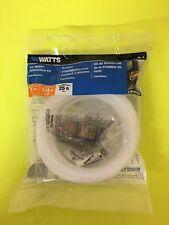 "Watts K-1 Ice Maker Installation Kit 1/4"" 25ft Long Line Polyethylene"