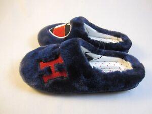Tommy Hilfiger Pantoffel Hausschuhe dunkelblau EU 35