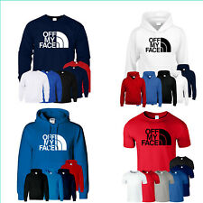 Funny Drugs Tshirt NORTH MUSIC OFF MY FACE Festival Cocaine Men Kids Hoody Sweat