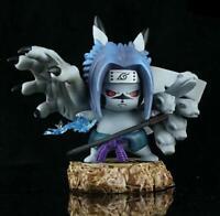Naruto Uchiha gray PVC figure figures doll toy dolls fashion gift cute