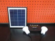 Solar Indoor Lights for Sheds/Garage x 2 kits +.+ free post Aust Stock !