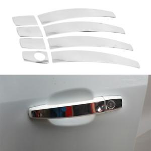 Fit For Buick Verano 2012-2017 Chrome Exterior Side Door Handle Sticker Trim 8PC