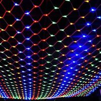 200-880 LED String Fairy Lights Net Mesh Curtain Xmas Wedding Party Outdoor Lamp