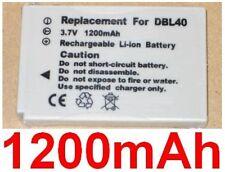 Batterie 1200mAh type DB-L40 DB-L40A DB-L40AU Pour Sanyo Xacti DMX-HD800