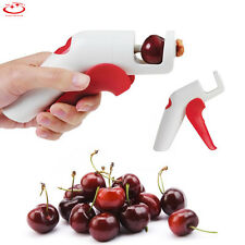 Cherry Olive Pitter Corer Pits Stoner Removal Easy Squeeze Grip Handheld Kitchen