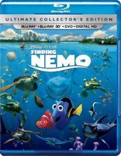 Disney*Pixar's Finding Nemo (Blu-ray/DVD, 2012, 4-Disc Set; 3D)