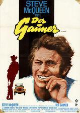 Der Gauner ORIGINAL A1 Kinoplakat Steve McQueen / Sharon Farrell /Grafik PELTZER