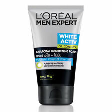 Loreal Men Expert White Active Oil Control Charcoal Brightening Foam 100 ml.