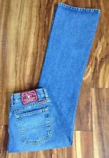 SEXY!! LUCKY BRAND PLAIN JANE FLARE D Distressed JEANS Dungarees 8/29 FREE SHIP!