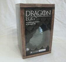 Dragon Egg Ceramic Toothbrush Holder Storage Kit Green Scales Geek Fuel Excl