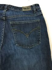 Tommy Bahama Indigo Palms Bootcut Mid Rise Distressed  Blue Jeans Women's 8L
