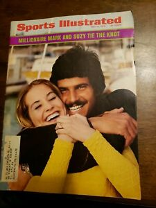 Sports Illustrated - Mark and Suzy Tie the Knot - May 14, 1973 -(M18A)
