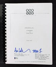 "Ari Lehman ""Jason 1"" Authentic Signed  Friday The 13th Movie Script BAS"