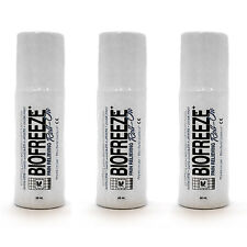 Biofreeze Pain Relieving Roll On, 3-Ounce (Pack of 3)