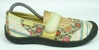 Keen Harvest Floral Stripe Mary Jane Canvas Shoes Women Size 8.5