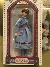 Disney Store Olaf's Frozen Adventure Anna Limited Edition Doll New In Box
