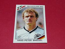 185 BRIEGEL 1986 RFA BRD MEXICO 86 FOOTBALL PANINI WORLD CUP STORY 1990 SONRIC'S