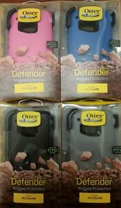 OEM Otterbox Rugged Defender Case W/Clip For HTC ONE 1 M9 Verizon AT&T Sprint