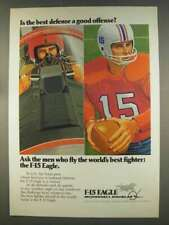 1977 McDonnell Douglas F-15 Eagle Ad - Best Defense