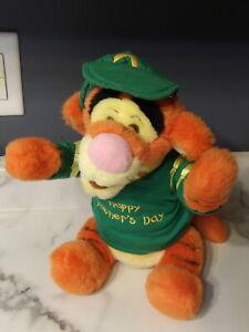 "VHTF 15"" Walt Disney Winnie Pooh TIGGER Plush HAPPY FATHER'S DAY Shirt (*64)"